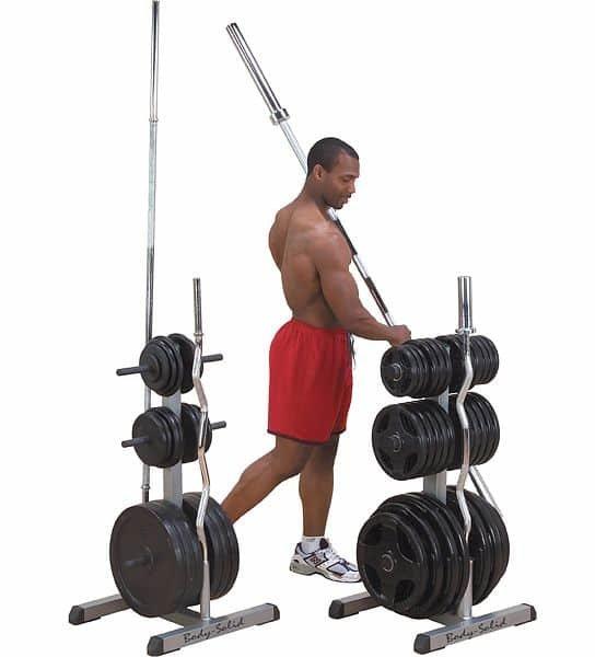 Stojan na závaží GOWT Olympic, Body Solid - nosnost 450 kg