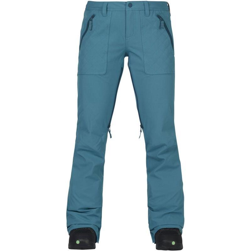 Modré dámské snowboardové kalhoty Burton