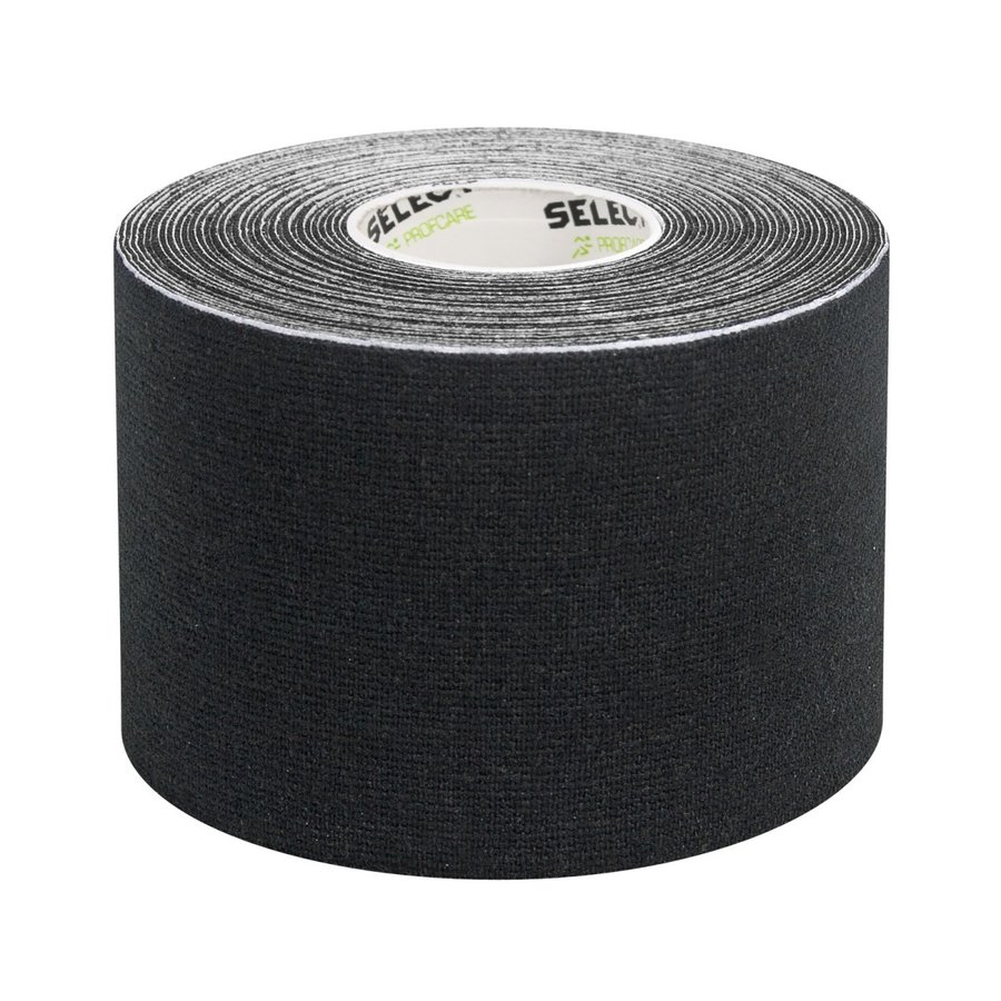Černá tejpovací páska Select - délka 5 m a šířka 5 cm