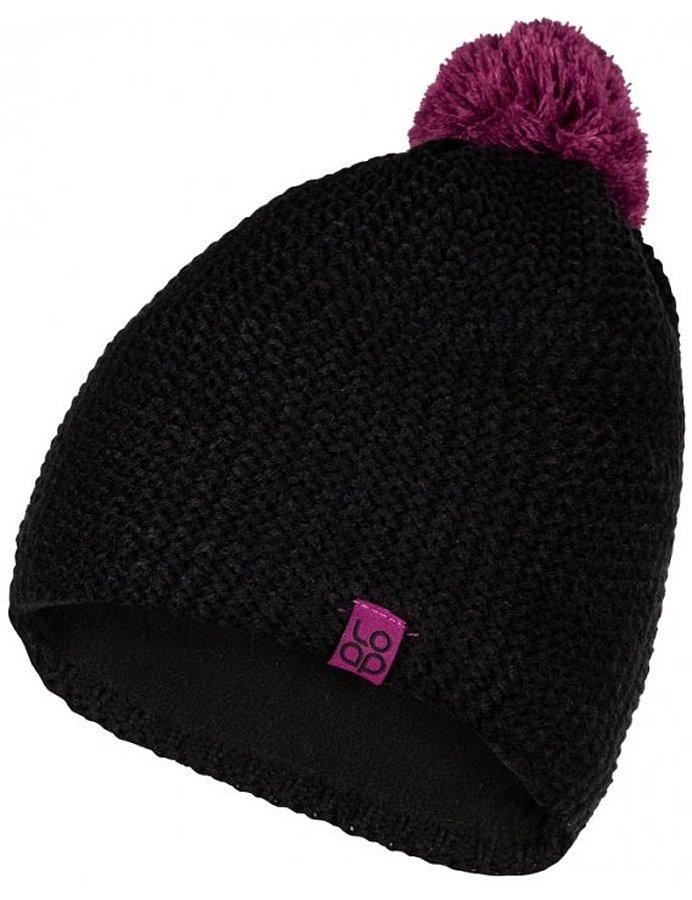 Černá dětská zimní čepice Asics - velikost 50-52 cm
