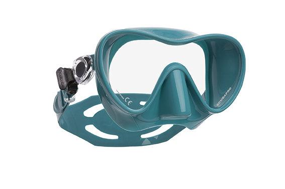Potápěčská maska - Maska potápěčská Trinidad 3 Scubapro - celoberevná maska - tyrkysová