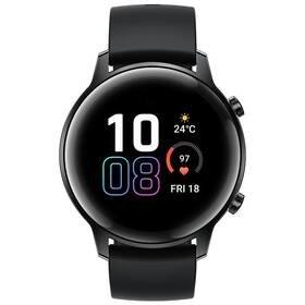 Černé chytré hodinky Watch Magic 2, Honor