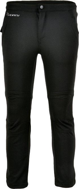 Černé dětské kalhoty na běžky Silvini