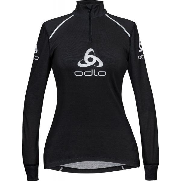 Černé dámské funkční tričko s dlouhým rukávem Odlo
