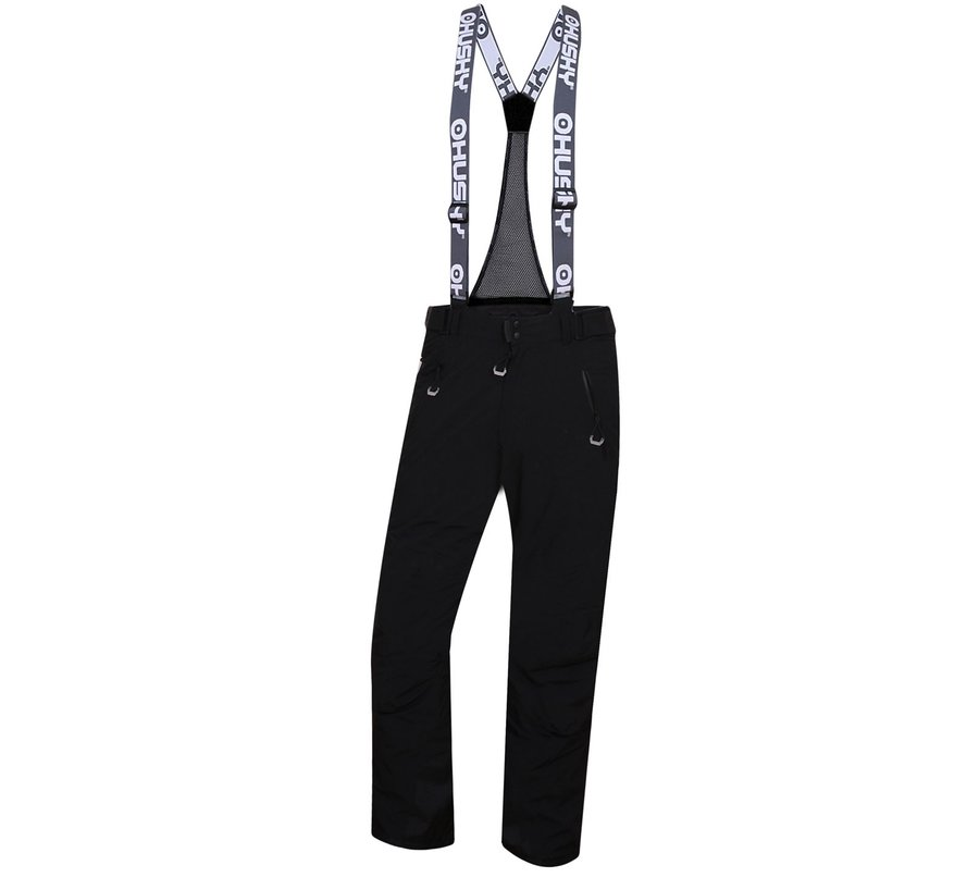 Černé pánské lyžařské kalhoty Husky - velikost XL