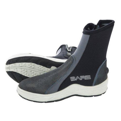 Černo-šedé vysoké neoprenové boty Ice Boot, Bare