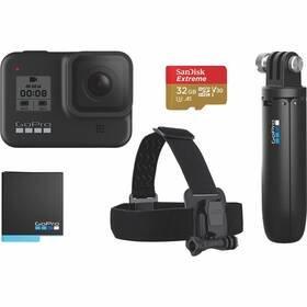 Černá outdoorová kamera Hero 8, GoPro