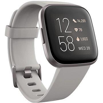 Šedé chytré pánské hodinky Versa 2, Fitbit