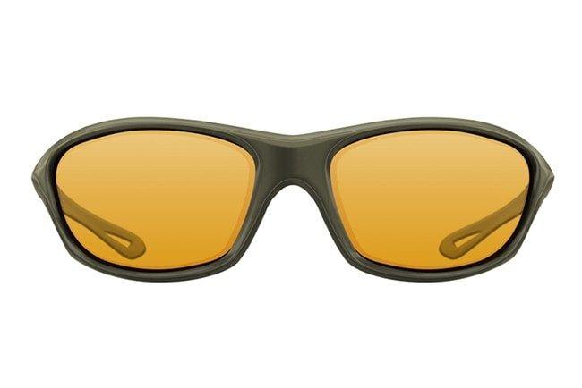 Sluneční brýle - Korda Sluneční brýle Wraps Sunglasses Olive/Yellow