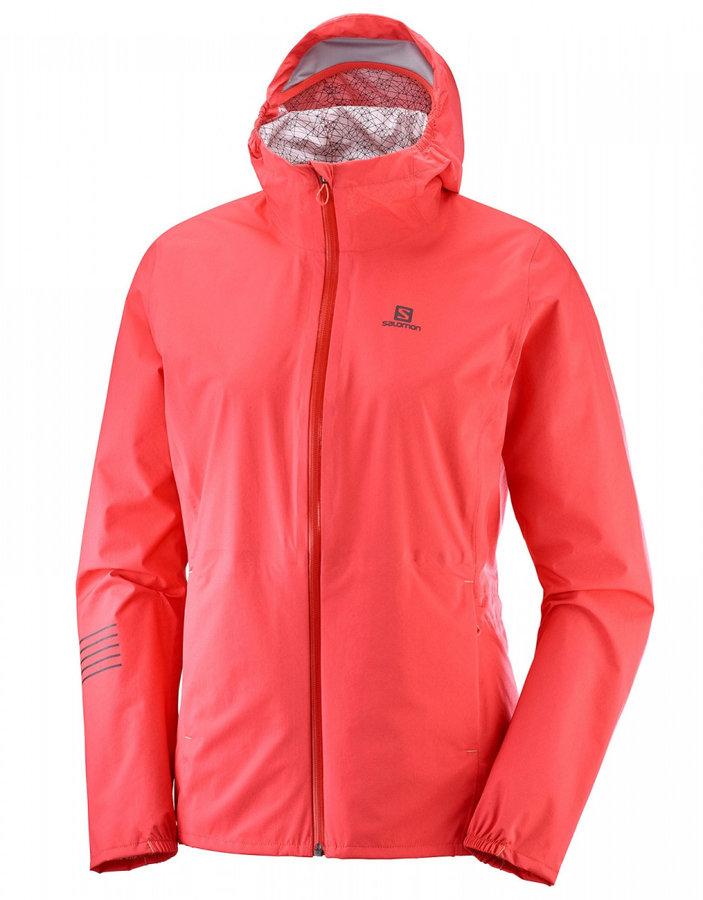Červená dámská bunda Salomon