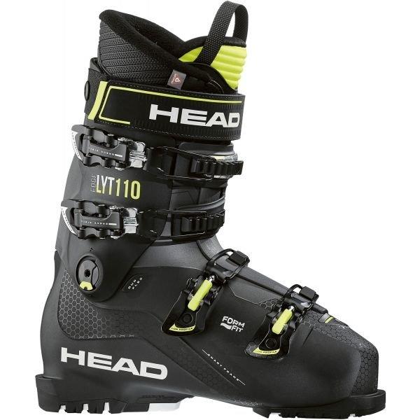Černé lyžařské boty Head