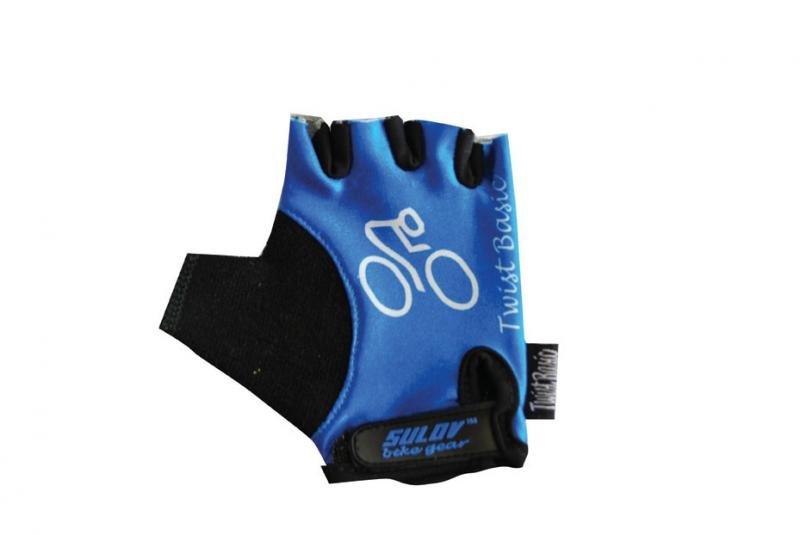 Cyklistické rukavice - Sulov Twist Basic blue Oblečení velikost: M