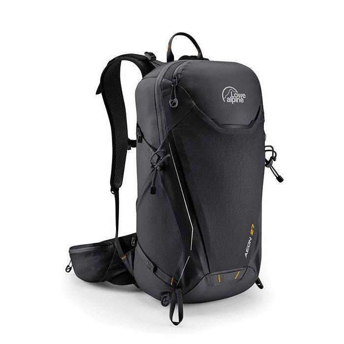 Černý turistický batoh Lowe Alpine - objem 27 l