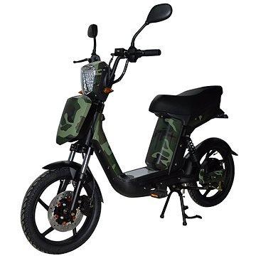 Maskáčová elektrická motorka E-Babeta, Racceway