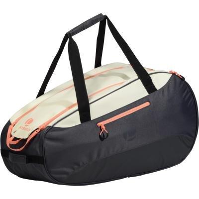 Bílo-šedá tenisová taška Artengo