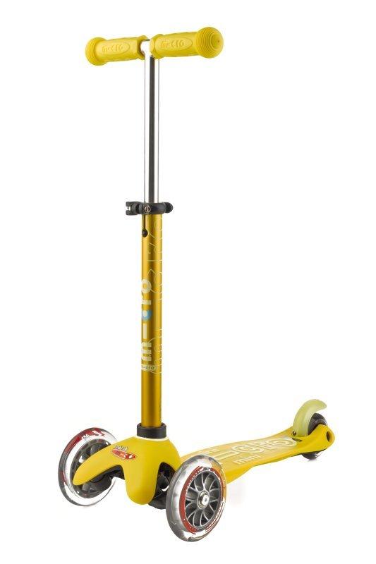 Koloběžka - Mini Micro Deluxe Yellow