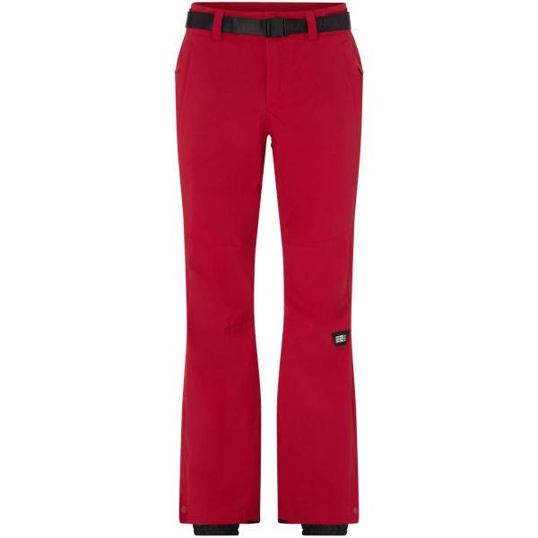 Červené dámské snowboardové kalhoty O'Neill - velikost M