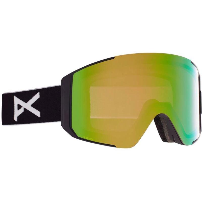 Černé brýle na snowboard Anon