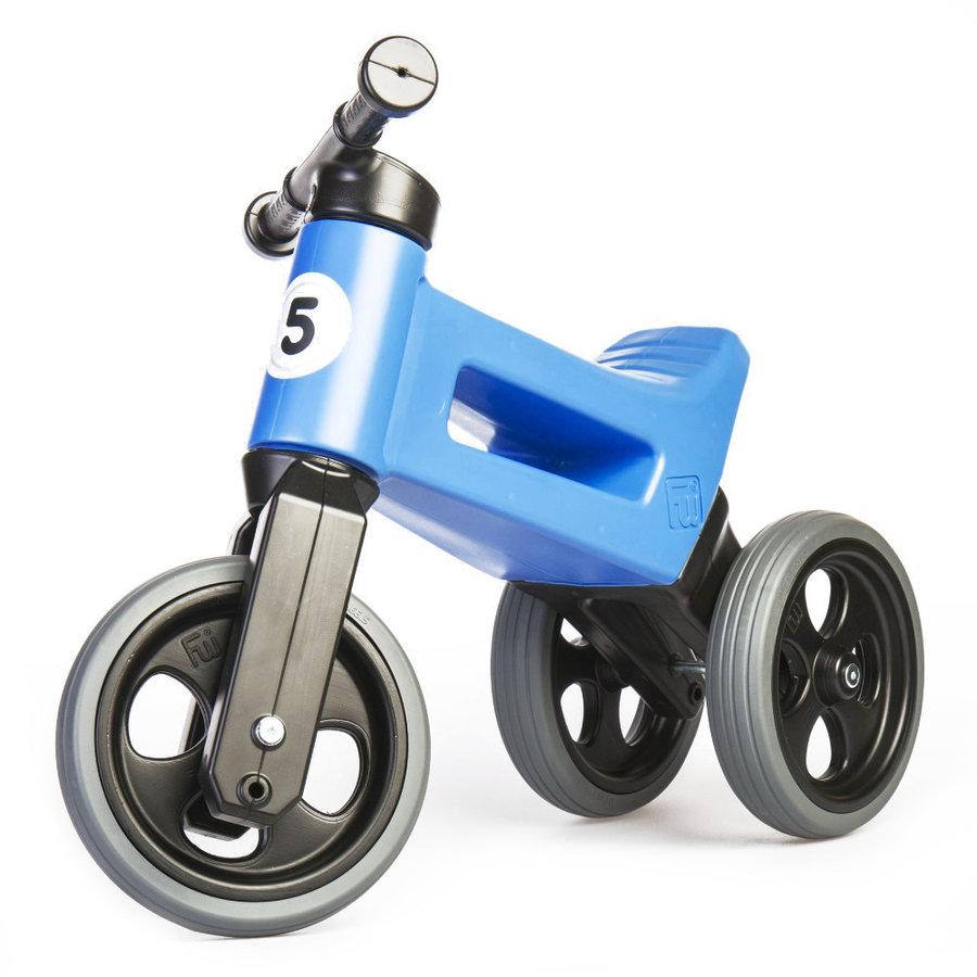 Černo-modré dětské odrážedlo Funny Wheels