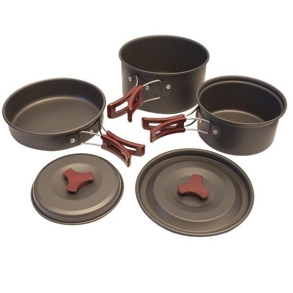 Kempingové nádobí - Sada nádobí Yate Yen II
