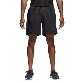 Černé pánské běžecké kraťasy Adidas