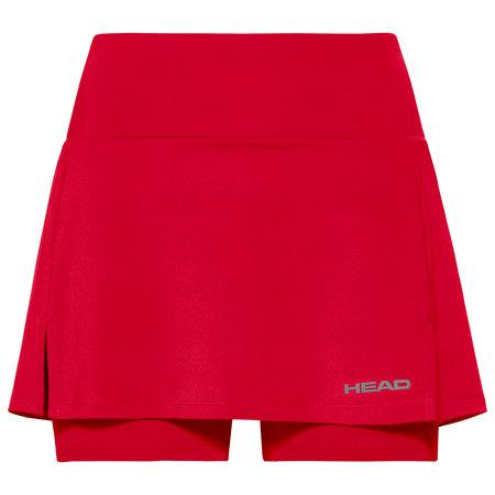 Červená dívčí tenisová sukně Head