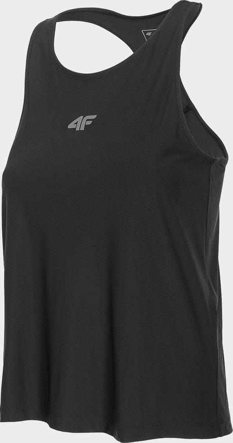 Černé dámské běžecké tílko 4F