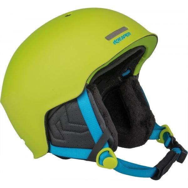 Zelená pánská helma na snowboard Reaper