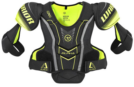 Hokejový chránič ramen - junior Warrior - velikost L
