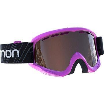 Černé dětské lyžařské brýle Salomon