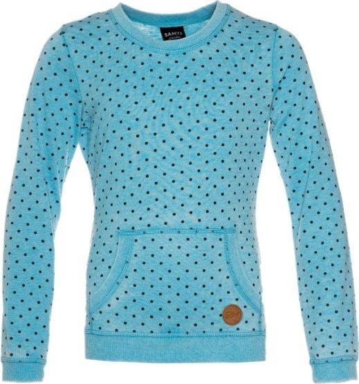 Modrá dívčí mikina bez kapuce Sam 73 - velikost 128