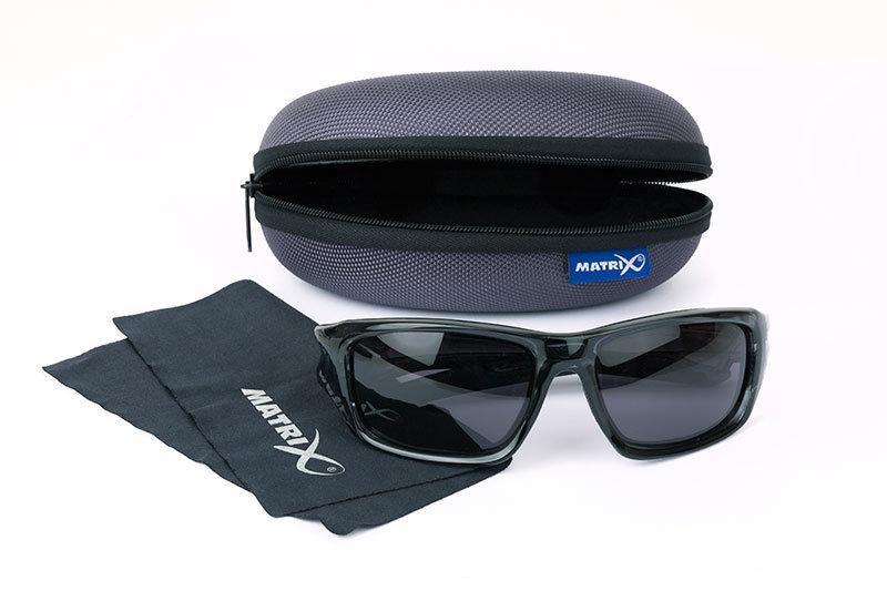 Polarizační brýle - Matrix polarizační brýle Trans Black Wraps GSN001