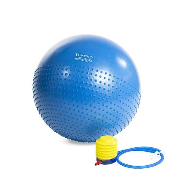 Modrý gymnastický míč HMS - průměr 55  cm