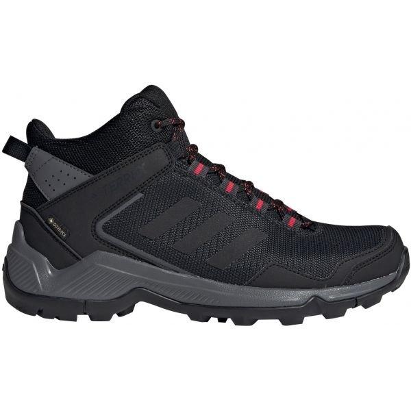 Černé voděodolné dámské trekové boty Adidas