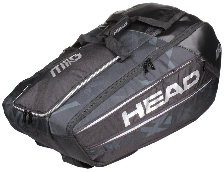 Černá tenisová taška Head