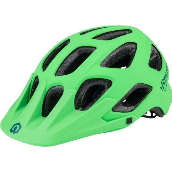 Zelená cyklistická helma Arcore