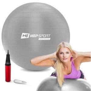 Stříbrný gymnastický míč Hop-Sport