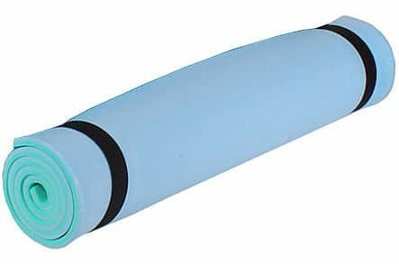 Modro-zelená karimatka Merco - tloušťka 1 cm
