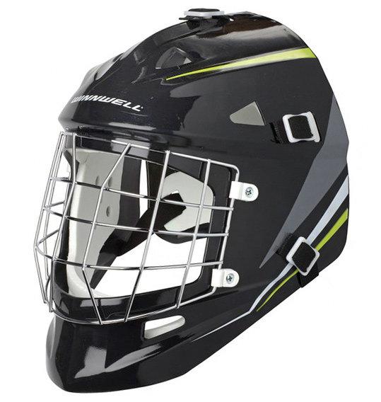 Černá brankářská maska universální Street Hockey, Winnwell