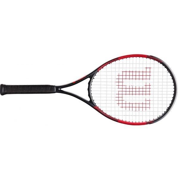 Černo-červená dámská tenisová raketa Wilson