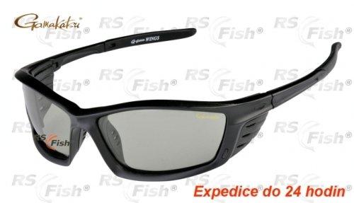 Polarizační brýle - Gamakatsu® Wings Light Green / Blue