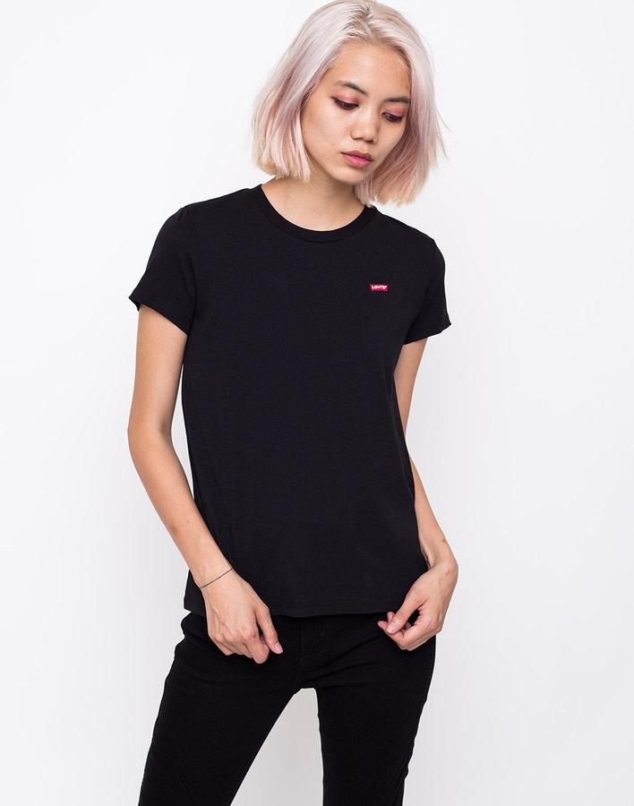 Černé dámské tričko s krátkým rukávem Levi's - velikost L