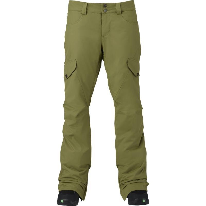 Zelené dámské snowboardové kalhoty Burton - velikost L