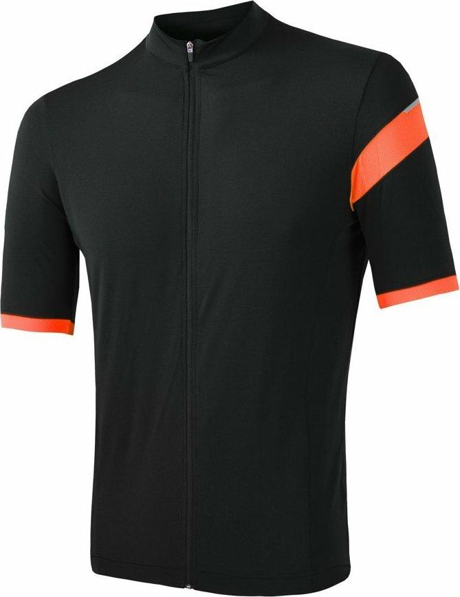 Černo-oranžový pánský cyklistický dres Sensor - velikost XXL