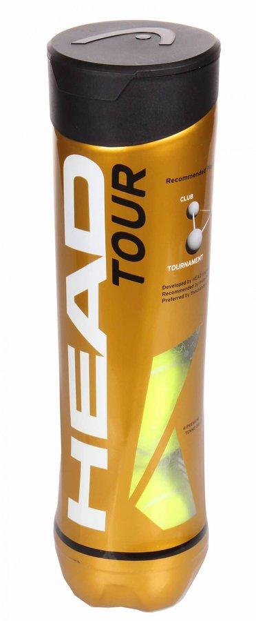 Tenisový míček - TOUR tenisové míče balení: 4 ks