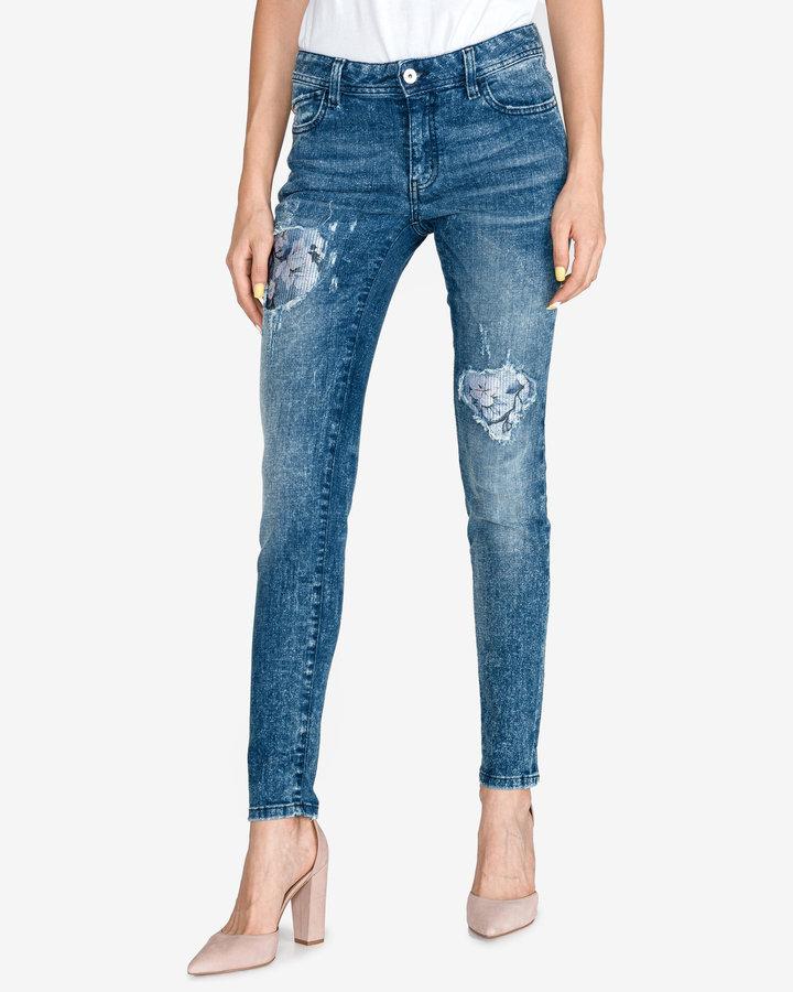 Modré dámské džíny Just Cavalli - velikost 27