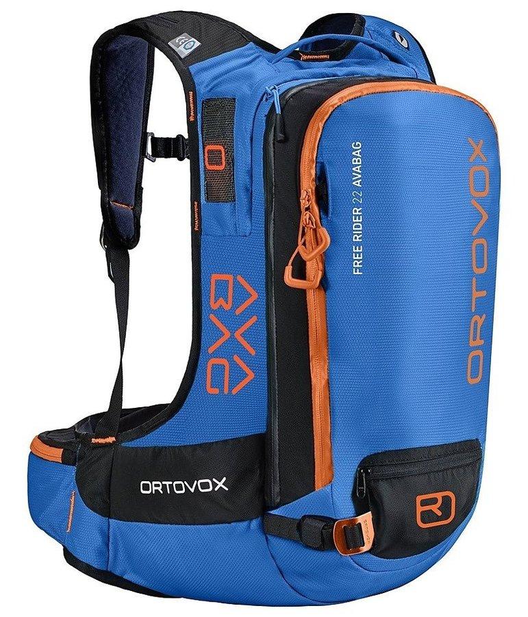 Modrý lavinový skialpový batoh Ortovox - objem 22 l
