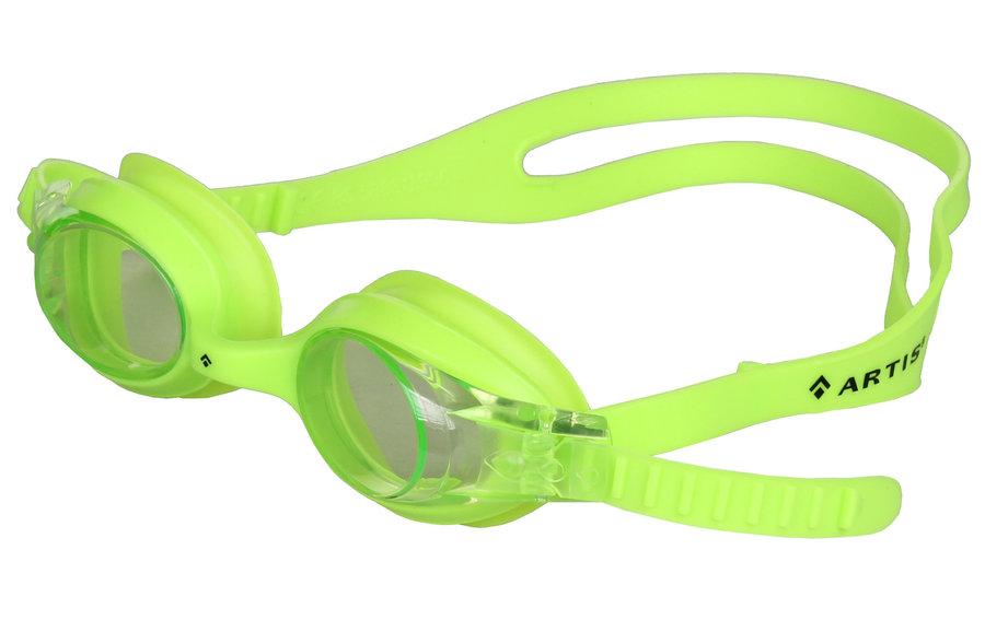 Zelené dětské chlapecké nebo dívčí plavecké brýle Slapy JR, Artis
