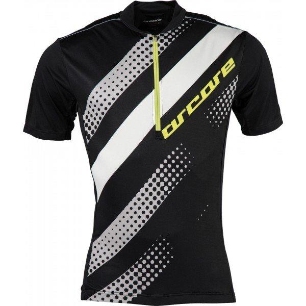 Černý pánský cyklistický dres Arcore