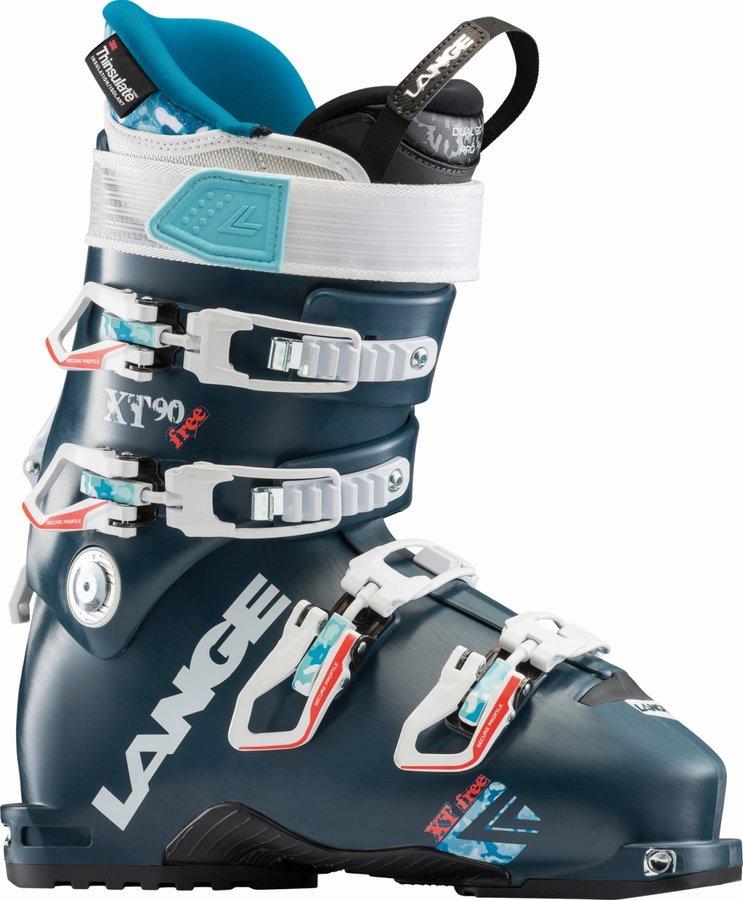 Dámské lyžařské boty Lange - velikost vnitřní stélky 25,5 cm